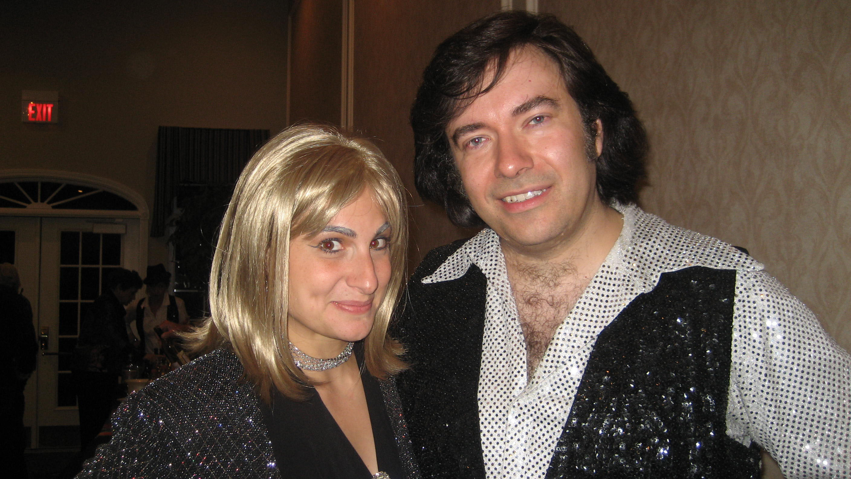 Barbara Streisand and Neil Diamond